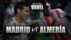 Real Madrid - Almería: duelo de necesidades opuestas