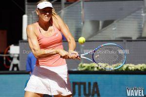 WTA Madrid, Sharapova ai quarti