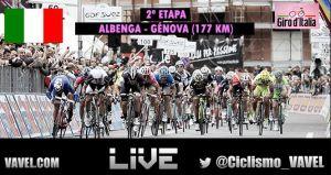 Resultado de la 2ª etapa del Giro de Italia 2015