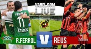 Racing de Ferrol - Reus en directo online en playoffs de Segunda B 2015(1-0)