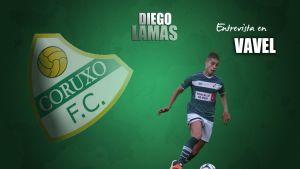 """Diego Lamas: """"Desde el primer día me acogieron muy bien"""""""