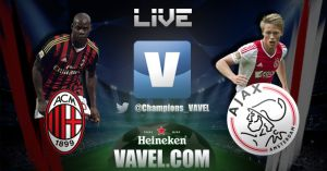 Resultado Milan 0 - 0 Ajax en Champions League 2013