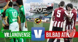 Villanovense - Bilbao Athletic en directo online en playoffs Segunda B 2015 (0-0)
