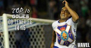 Suso e Ifrán brillan en el top 10 de VAVEL sobre las mejores jugadas del Tenerife 14/15