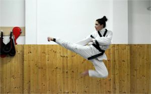 Janira Rivera: una vida de pasión por el taekwondo