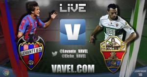 Levante vs Elche en vivo y en directo online