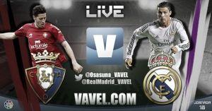 Diretta Osasuna - Real Madrid, live della partita di Liga
