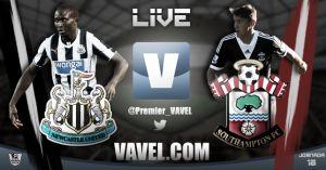 Newcastle vs Southampton en vivo y en directo online