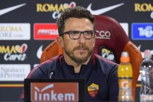 """Di Francesco: """"Dzeko titolare, out Perotti e Gonalons"""""""