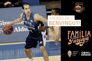 Andrés Rico ficha por el Valencia Basket