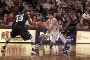Penn Quakers Can't Escape Early Hole, Fall To Lafayette Leopards Despite Late Surge