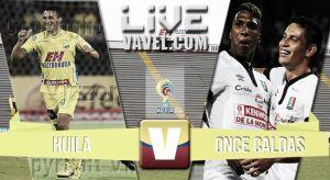 Resultado Atlético Huila vs Once Caldas en vivo (1-0)
