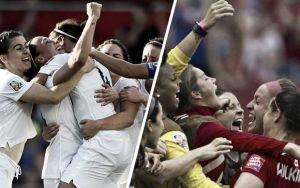 Score England vs Canada in Women's World Cup 2015 (2-1)