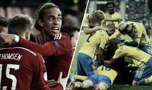 Score Denmark U21 vs Sweden U21 in 2015 UEFA European Under-21 Championship (1-4)
