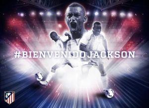 Atlético de Madrid oficializó el fichaje de Jackson Martínez