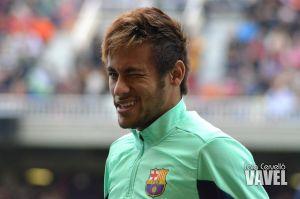 Neymar, baja por un esguince de tobillo