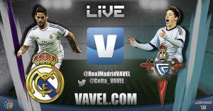 Real Madrid vs Celta de Vigo en vivo y directo online