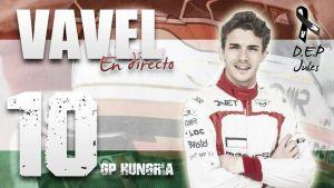 Resultado Entrenamientos Libres 3 del GP de Hungría de Fórmula 1 2015