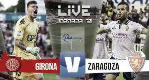 Resultado Girona - Real Zaragoza en Segunda División 2015 (0-0): insípido choque, pobre empate