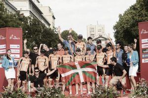 El podio de Madrid despide a Euskaltel de las grandes vueltas