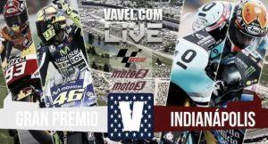 Rivivi il live del GP di Indianapolis: Marquez trionfa su Lorenzo. Rossi sul podio