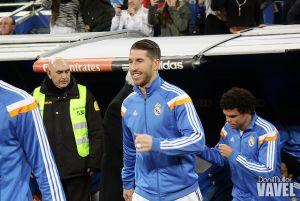Sergio Ramos fue baja ante el Almería