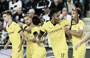El Dortmund despierta a tiempo del sueño noruego