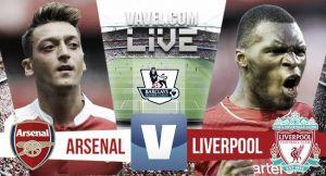 Score Arsenal vs Liverpool in EPL 2015 (0-0)