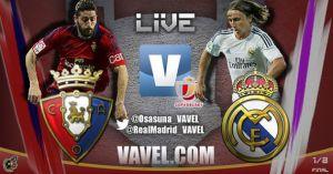 Diretta Osasuna - Real Madrid, live della partita di Coppa del Re