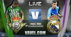 Diretta Betis - Real Madrid, live della partita di Liga spagnola