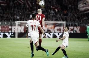 Bayern Múnich - Sevilla FC: puntuaciones Sevilla; vuelta de cuartos de Champions League
