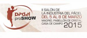 El Congreso Internacional de Padel Pro Show 2015 contará con un cartel de lujo