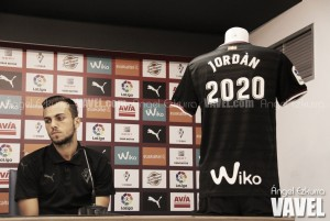 """Joan Jordán: """"Yo quiero estar allí donde me quieran, y el Eibar me quiere"""""""