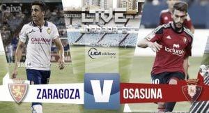 Resultado Real Zaragoza - Osasuna (0-1)