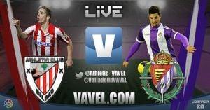 Resultado Athletic de Bilbao - Real Valladolid en la Liga BBVA 2014 (4-2)