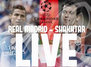 Live Real Madrid - Shakhtar Donetsk, risultato partita Champions League 2015/2016 in diretta (4-0)