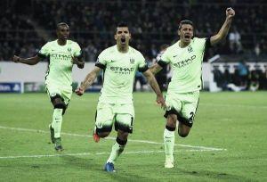 Borussia Mönchengladbach 1-2 Manchester City: Agüero's last minute penalty completes the Citizens' comeback