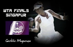 WTA Singapur. Garbiñe Muguruza: reina en las alturas