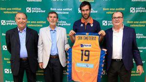 """Fernando San Emeterio: """"Por fin estoy en Valencia"""""""
