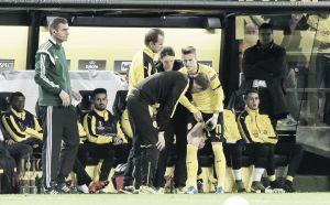 La Europa League deja a Marco Reus dos semanas lesionado