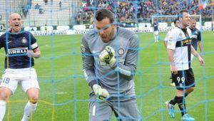 Handanovic - Rolando, l'Inter espugna Parma