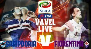 Live Sampdoria - Fiorentina (0-2) risultato Serie A 2015/16 in diretta