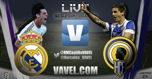 Real Madrid Castilla - Hércules, en directo