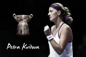 Fed Cup 2015. Petra Kvitova: líder de las checas con galones