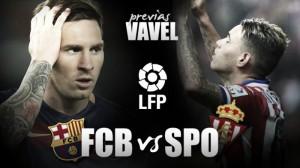 FC Barcelona - Real Sporting de Gijón: David quiere vencer a Goliat