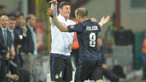 Festa Inter, Zanetti in trionfo