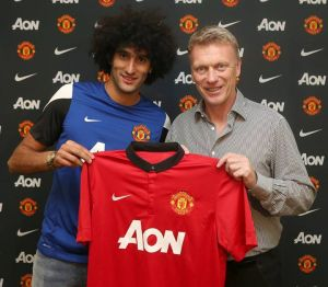 Marouane Fellaini est un Red Devil
