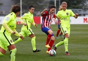 El Atlético Féminas tropieza a última hora