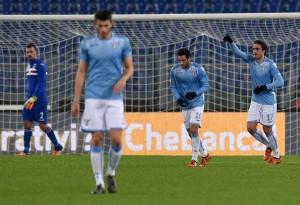 Pareggio inutile fra Lazio e Sampdoria: 1-1 all'Olimpico