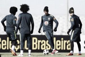 Com mudanças em três setores, Brasil fecha preparação para amistoso diante da Rússia
